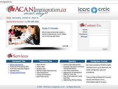 ACAN Immigration