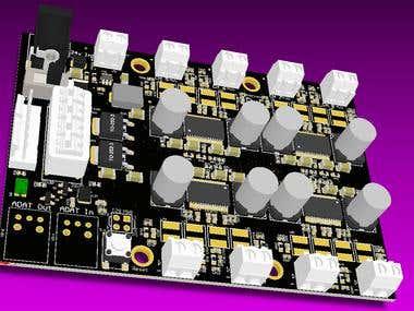 8 Channel Audio Amplifier