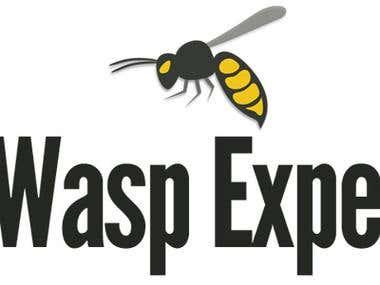 Wasp Expert Logo Design