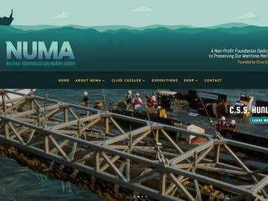 NUMA.net Website Design