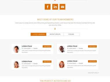 online marketplace mockup