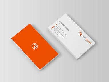 Sample Business Card and Envelope