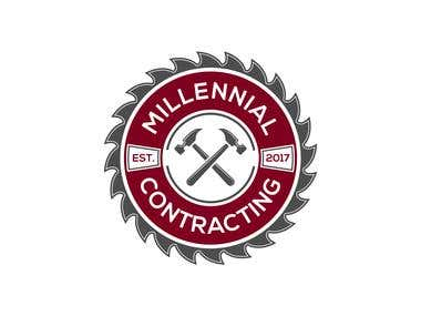 Milennial Contracting Logo