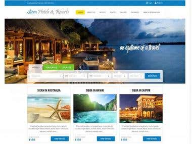 Hotel, Flight and Car booking Site