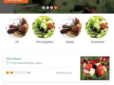 Groceries Store App