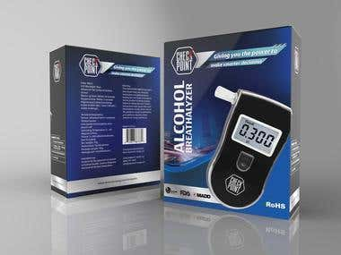 alcohol breathalyzer packaging