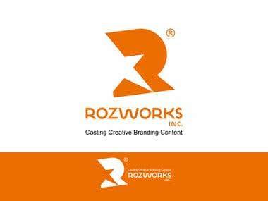 Brand Identity for Rozworks Inc
