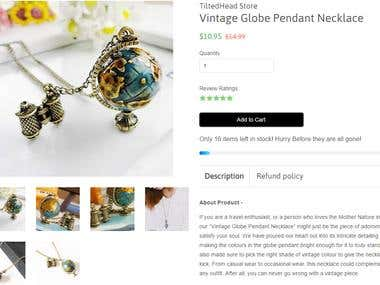Product Description - Necklace