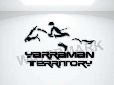 Yarraman horse logo & IVR logo