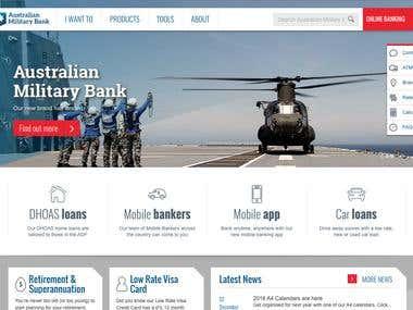 Australian Military Bank content