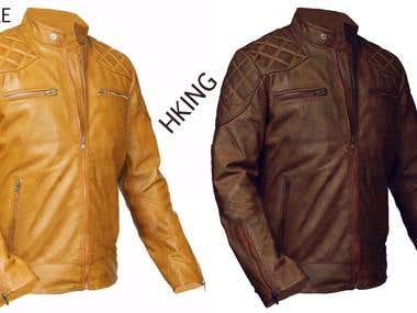 Jaket color change