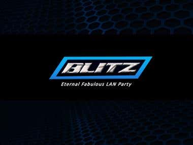 Blitz Logo Branding Concept