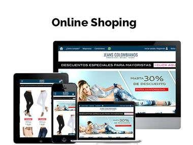 Online Shopping Ecommerce Development