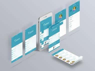 Tutor Mobile Application