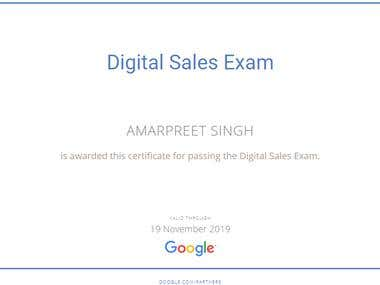 Google Digital Sales - 2017