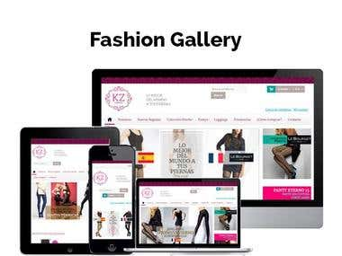 Fashion Designing Website