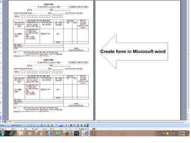 data entry and form creatting