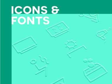Icons & Fonts