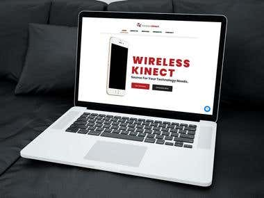 Wireless Kinect Website