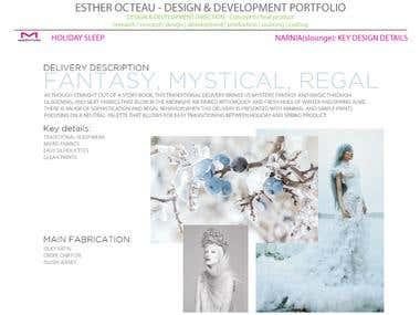 Apparel design, development & production - Maidenform sleep