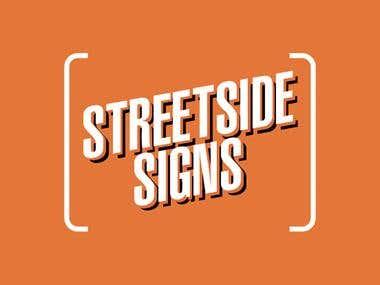 Branding Design - Streetside Signs