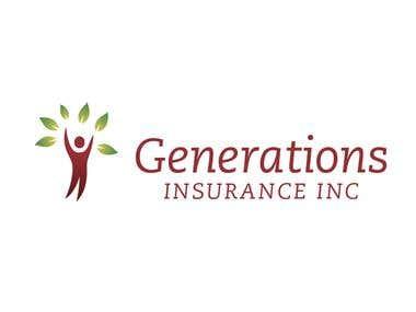 Branding Design - Generations Insurance