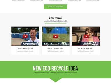 Recycling Services website