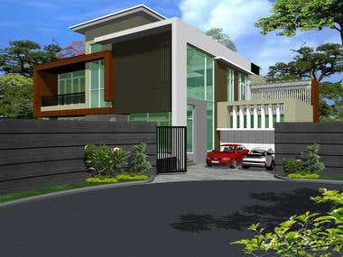 3D design - House