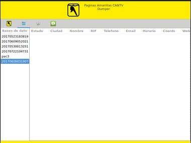 PAC Dumper - Phone directory scraper & Dumper