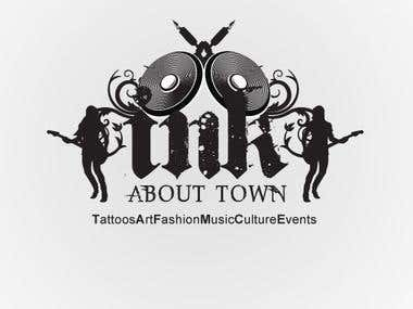 Ink About Town - Logo and Flyer Design