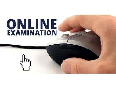 Online Learning and Examination System