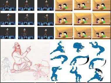 2D Animation / Gif Animation