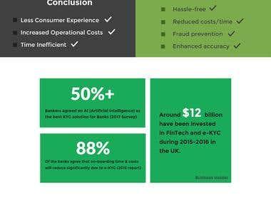 Online Banking Info-Graphics Design