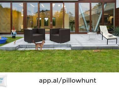 Game Development - Pillow Hunt