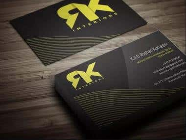 I will do creative and modern business card design perfectly