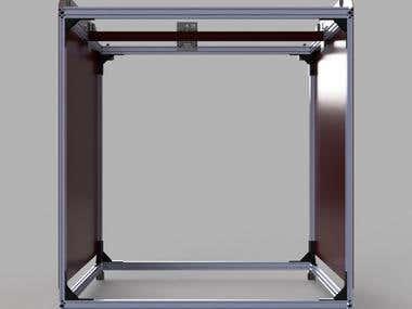 1 Cubic Meter 3D printer (1m*1m*1m)