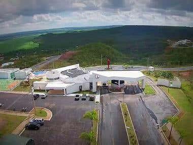 Filmagem aérea condomínio Santa Mônica - Brasília