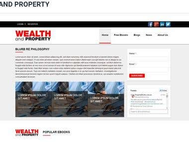 WEALTH AND PROPERTY