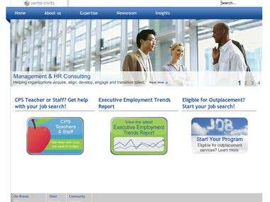 Joomla website for BPI group