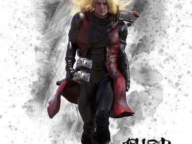 Concept Art of modern Thor