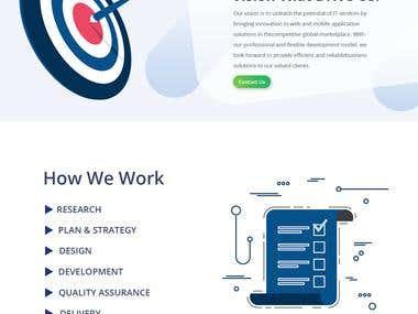 Software House Web Design
