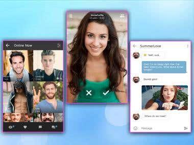 Ionic-dating app