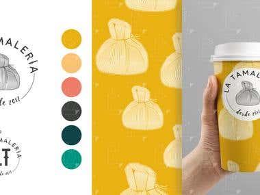 La Tamalería - Brand Design