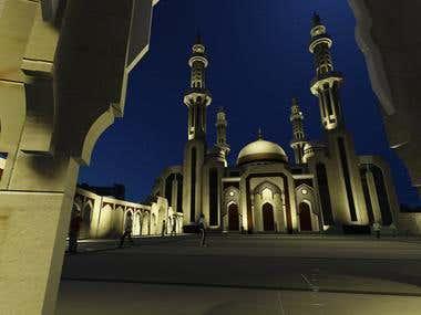 Shafei Mosque Design
