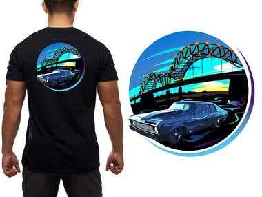 Back Shirt Design