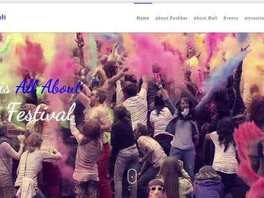 Pushkar Holi Festival - Website