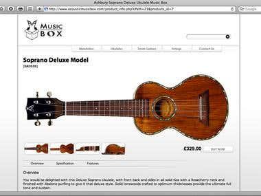 Music Box Online Shop