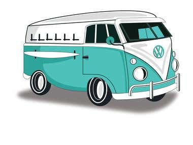 Car/ Van Illustration