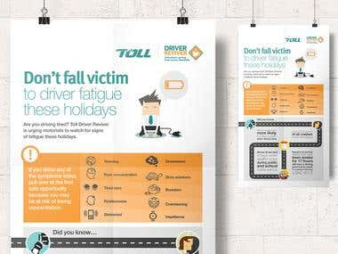 Toll Driver Reviver infographics
