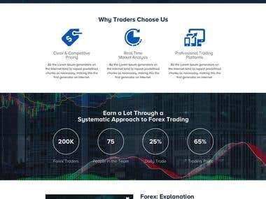 Forex Trading Company Website